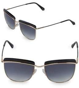Balmain 56MM Rounded Square Sunglasses
