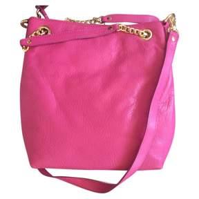 MICHAEL Michael Kors Jet Set Pink Leather Handbag