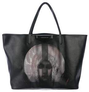 Givenchy Large Antigona Madonna Print Shopper Tote