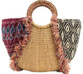 Sam Edelman Adira Straw Shoulder Bag (Women's)
