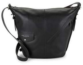 Marc Jacobs The Sling Leather Hobo Bag - CABERNET - STYLE
