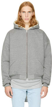 Fear Of God Grey Heavy Hoodie