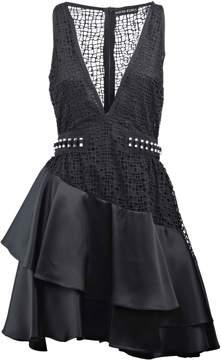 David Koma Flared Frill Dress