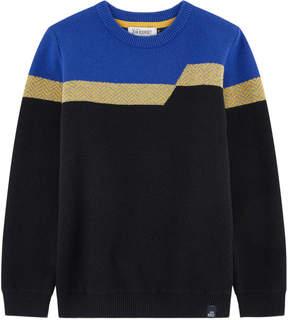 Jean Bourget Striped wool blend sweater