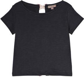 Emile et Ida Black Bitume Knots T-Shirt