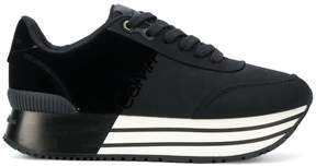 Calvin Klein Jeans striped sole platform sneakers