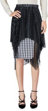 Facetasm Knee length skirts