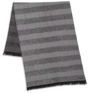 Kenzo Wool-Blend Striped Scarf