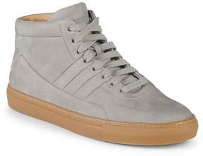 Bally Men's Hendal Suede Mid-Top Sneakers