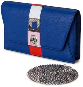 Akris Anouk Superstripe Patchwork Envelope Shoulder Bag