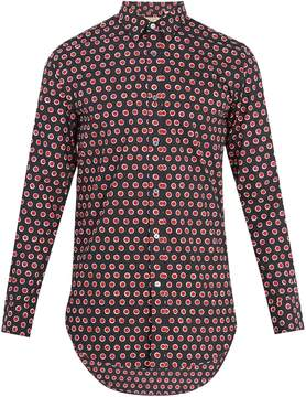 Burberry Strenton polka-dot print cotton shirt