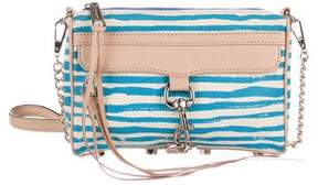 Rebecca Minkoff Canvas M.A.C. Crossbody Bag - BLUE - STYLE