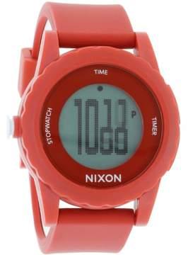Nixon The Genie Digital Silicone Mens Watch A326200