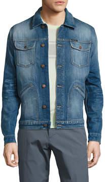 Michael Bastian Men's Cotton Classic Denim Jacket