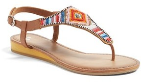 BP Women's Zandra Beaded V-Strap Sandal