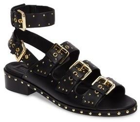 Topshop Women's Frank Studded Buckle Sandal