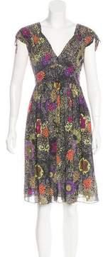Matthew Williamson Printed Knee-Length Dress