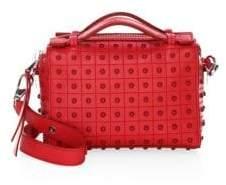 Tod's Mini Diodion Leather Box Bag