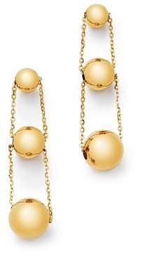 Bloomingdale's 14K Yellow Gold Graduated Bead Drop Earrings - 100% Exclusive