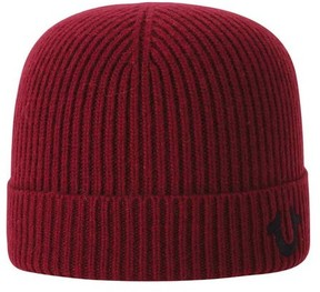 True Religion Men's 1828 Ribbed Knit Watchcap