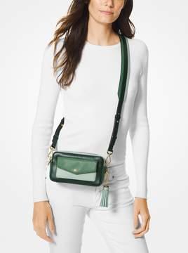 MICHAEL Michael Kors Small Tri-Color Leather Camera Bag
