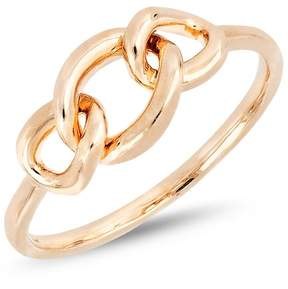 Bony Levy 14K Rose Gold Knot Accent Ring