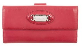 Gucci Vertical Leather Wallet - RED - STYLE