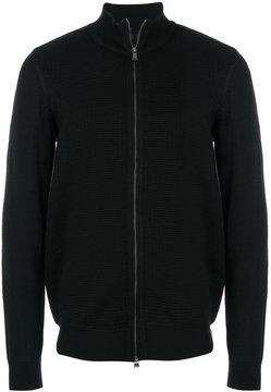 HUGO BOSS zipped jumper