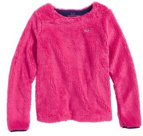 Vineyard Vines Toddler Girl's Fuzzy Sweatshirt