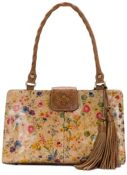 Patricia Nash Prairie Rose Collection Rienzo Colorblock Satchel