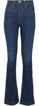 Levi's Re/Done By Distressed High-Rise Flared Jeans