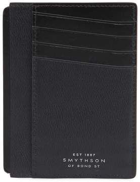 Smythson Grosvenor Leather Bill & Card Holder