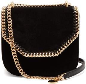 Stella McCartney Falabella velvet cross-bag