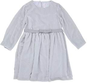 Il Gufo Viscose & Silk Blend Velvet Dress