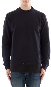 Diesel Black Gold Men's Blue Cotton Sweatshirt.
