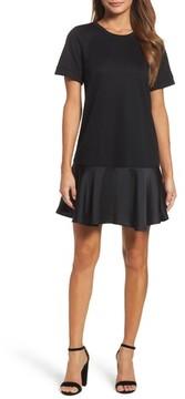 Chelsea28 Women's Ruffle Hem Sweatshirt Dress