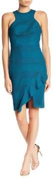 Adelyn Rae Bianca Jewel Neck Sheath Dress