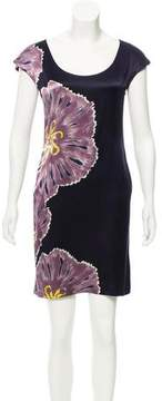 Adam Silk Floral Dress