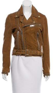 Diesel Embellished Suede Jacket