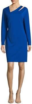 Alexia Admor Women's Long Sleeve Cut-Out Sheath Dress - Cobalt, Size 3x (22-24)