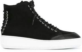 McQ 'Netil' hi-top sneakers