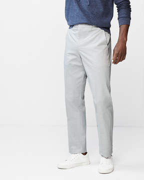 Express Classic Gray Slub Stretch Dress Pant