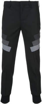 Neil Barrett striped suiting trousers