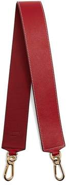Loewe Leather Bag Strap - Womens - Red