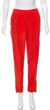 Enza Costa High-Rise Pants