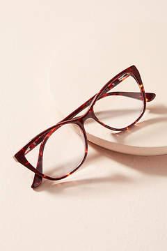 Anthropologie Michelle Tortoise Reading Glasses