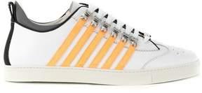 DSQUARED2 multi-striped sneakers
