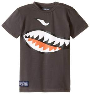 Toobydoo Shark Mouth T-Shirt (Infant/Toddler/Little Kids/Big Kids)