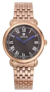 Croton Men's Analog Watch - Gold