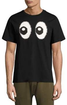 Mostly Heard Rarely Seen All Eyes On Cotton Tee